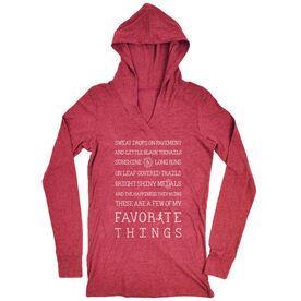 Women's Running Lightweight Performance Hoodie - Runner's Favorite Things
