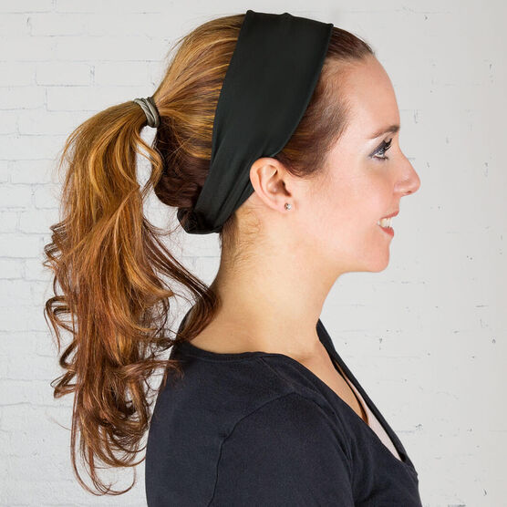 RunTechnology Tempo Performance Headband - Eva Black