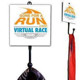 Virtual Race Series Logo Medal Hook