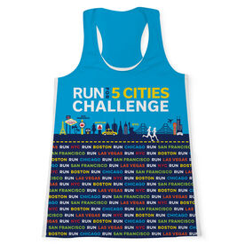Women's Performance Tank Top - Run For 5 Cities Challenge