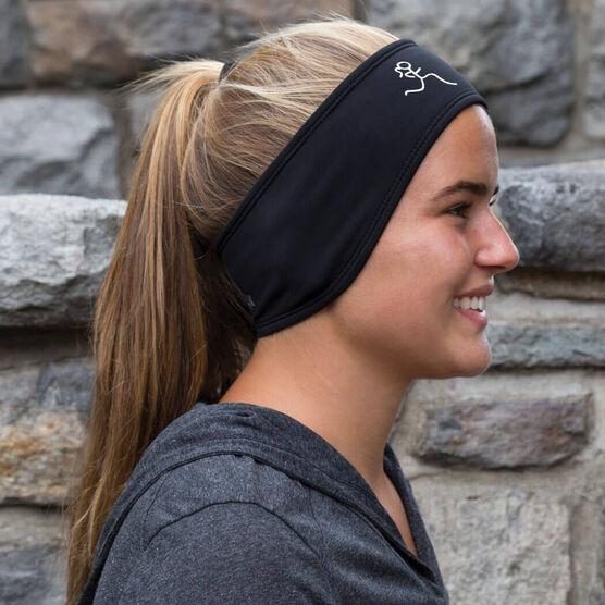 Running Reversible Performance Headband Run Girl
