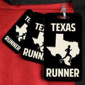 Bag/Luggage Tag Texas State Runner Male
