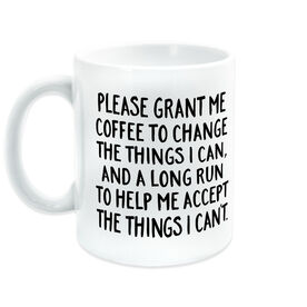 Running Coffee Mug - Please Grant Me Coffee