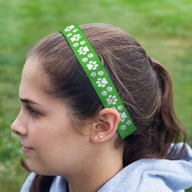 Athletic Juliband No-Slip Headband - Paw Prints