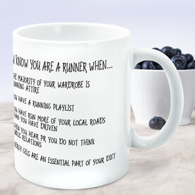 Running Coffee Mug - You Know You're A Runner When