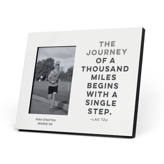 Running Photo Frame - The Journey Of A Thousand Miles