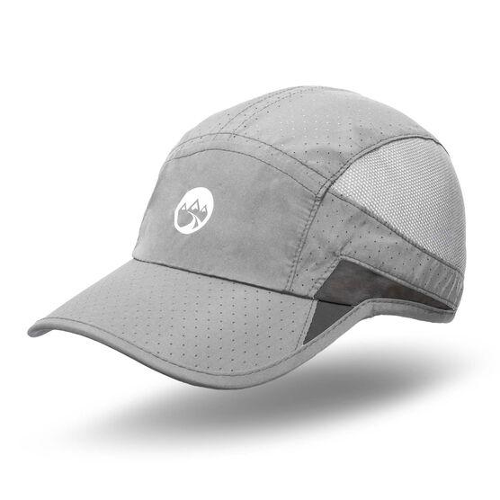 RunTechnology® Performance Hat - Light Gray