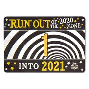 Virtual Race - Run Out of 2020 Zone Into 2021 5K (2020)
