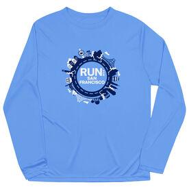 Men's Running Long Sleeve Performance Tee - Run for San Francisco