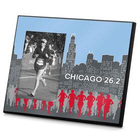 Running Photo Frame Chicago 26.2 Marathon