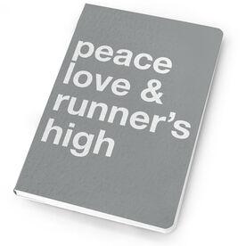 Running Notebook - Peace Love & Runner's High