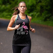 Women's Racerback Performance Tank Top - Flock It Just Run