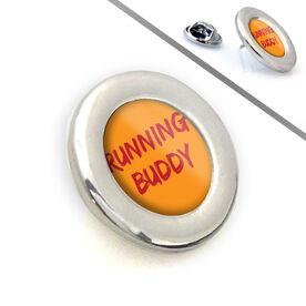 Running Lapel Pin Running Buddy
