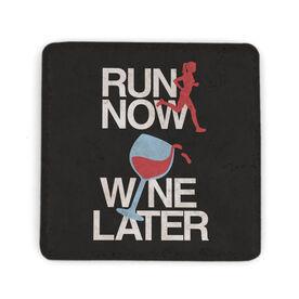 Running Stone Coaster - Run Now Wine Later