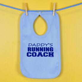 Daddy's Running Coach Baby Bib