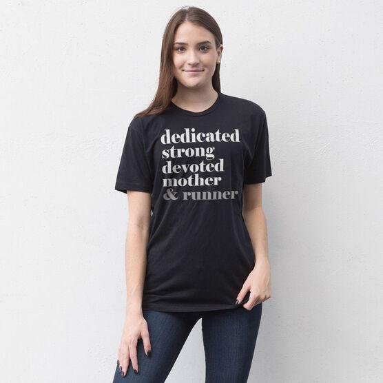 Running Short Sleeve T-Shirt - Run Mantra Mother Runner
