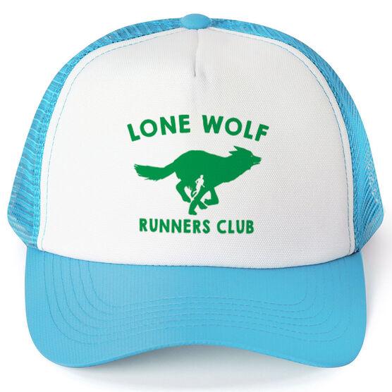 Running Trucker Hat Lone Wolf Runners Club