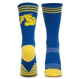 Socrates® Mid-Calf Performance Socks - Run Strong