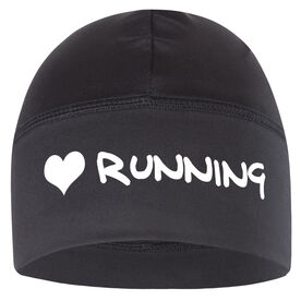 Run Technology Beanie Performance Hat - I Heart Running