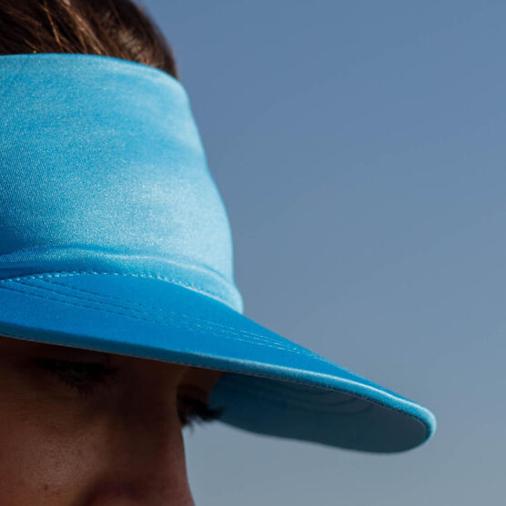 Running Comfort Performance Visor - Blue