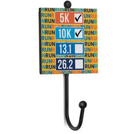 Running Medal Hook - Runner's Goals Checklist (Dry Erase)