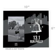 Running Photo Frame - 13.1 Philadelphia Liberty Bell