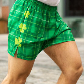 Guys Running Shorts - Luck Of The Runner