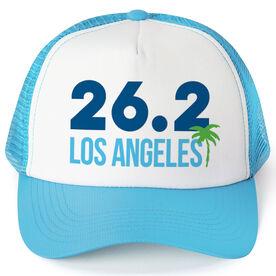 Running Trucker Hat - Los Angeles 26.2