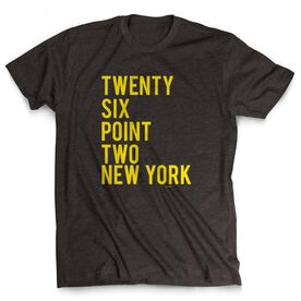Running Short Sleeve T-Shirt - Twenty Six Point Two New York