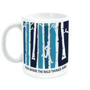 Running Coffee Mug - Run Where The Wild Things Are