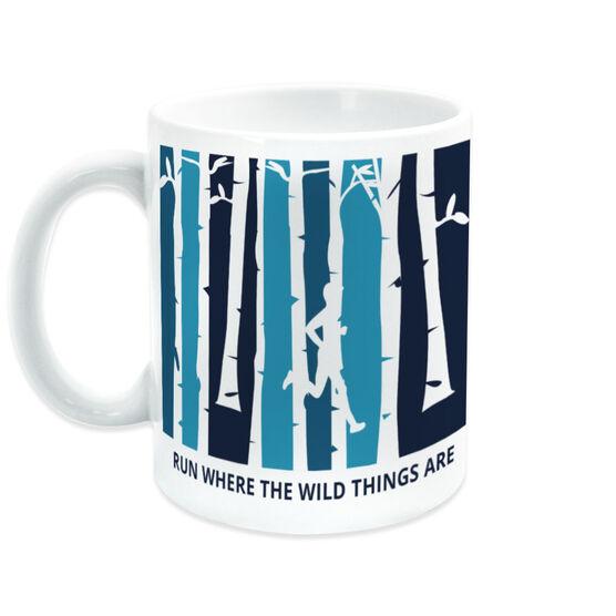 Running Coffee Mug - Run Where The Wild Things Are