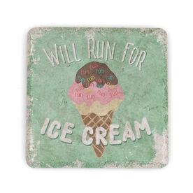 Running Stone Coaster Will Run for Ice Cream