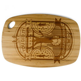 Rectangle Laser Engraved Bamboo Cutting Board You Did It!