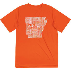 Men's Running Short Sleeve Tech Tee - Arkansas State Runner