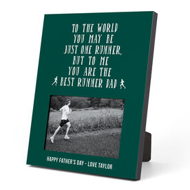Running Photo Frame - Best Runner Dad