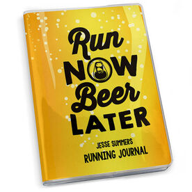 GoneForaRun Running Journal Run Now Beer Later