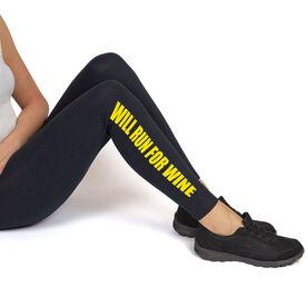 Runner's Leggings Will Run For Wine