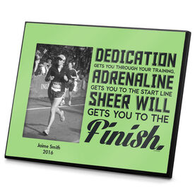 Running Photo Frame Dedication Gets You Through