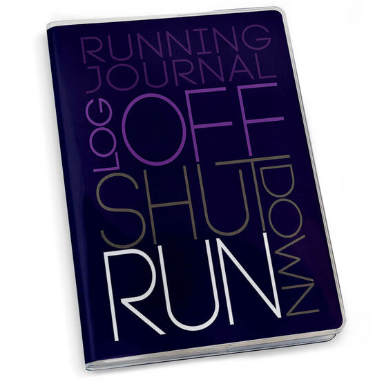 GoneForaRun Running Journal - Log Off Shut Down (Stacked)