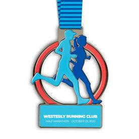 Let's Run Custom Race Medals