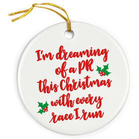 Running Porcelain Ornament - I'm Dreaming Of A PR (Script)