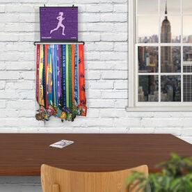 BibFOLIO+™ Race Bib and Medal Display Running Inspiration - Female