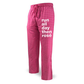 Running Lounge Pants - Run All Day Then Rose