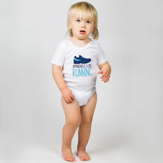 Running Baby One-Piece - I'm Told I Like Running