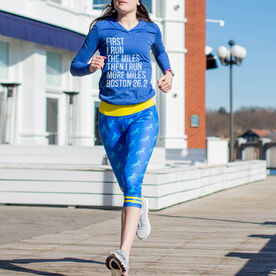 Running Performance Capris - Boston Unicorn