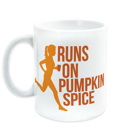 Running Coffee Mug - Runs On Pumpkin Spice