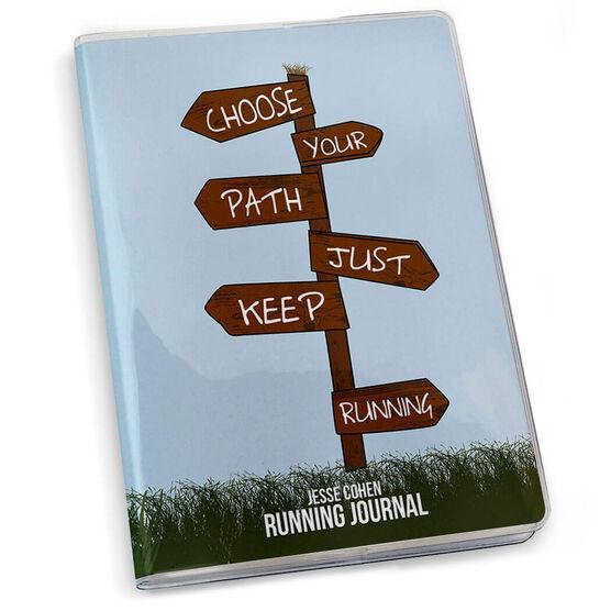 GoneForaRun Running Journal Choose Your Path