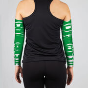 Running Printed Arm Sleeves - 13.1 That's Just Half Crazy