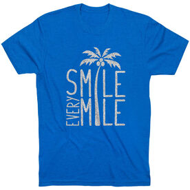 Running Short Sleeve T-Shirt - Smile Every Mile