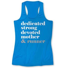 Women's Performace Tank Top - Run Mantra Mother Runner